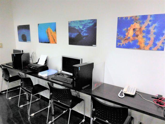 ビジネスにも便利な客室に24時間ネットコーナー設置!
