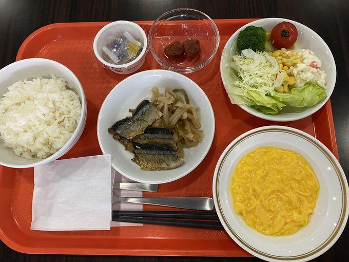 朝食は和食・洋食のプレートメニューから選択!
