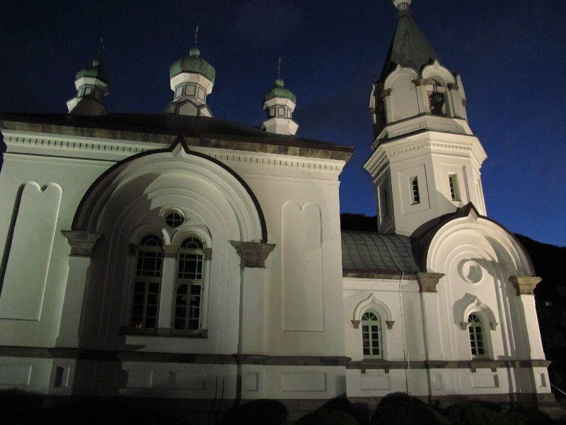 端正な函館ハリストス正教会