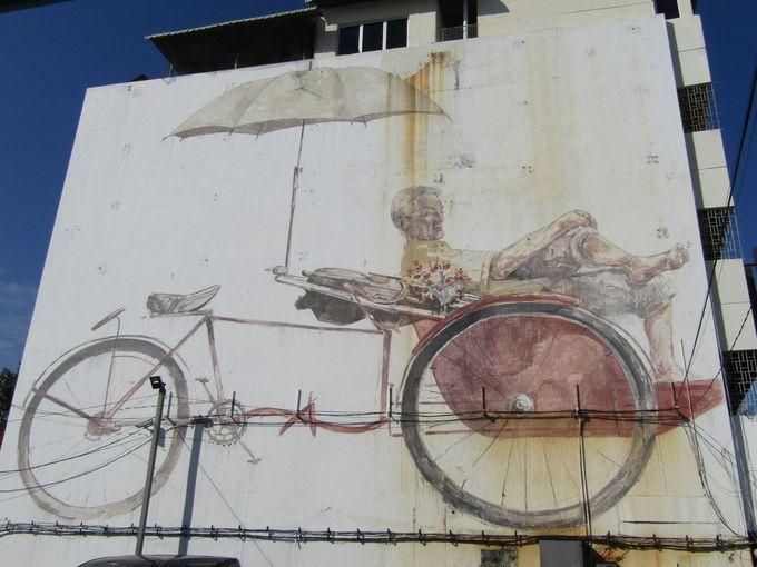 探してびっくり!巨大なストリートアート
