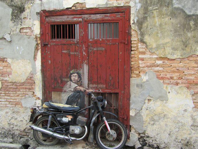 街全体が美術館?ペナン島のストリートアート