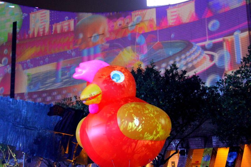 香港パルス3Dライトショー