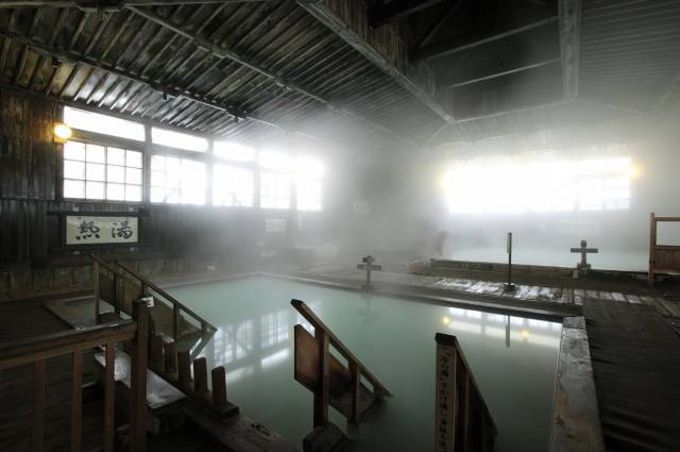 酸ヶ湯温泉は豪雪地帯にある秘湯