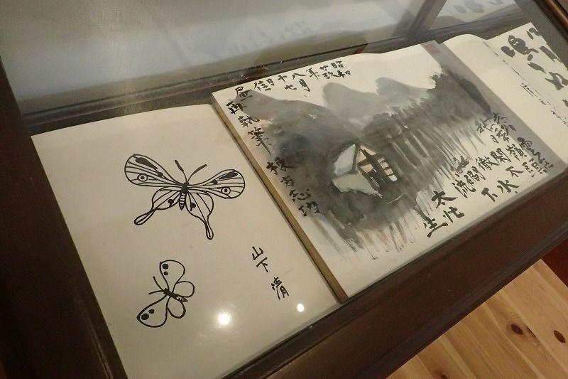 棟方志功や山下清の作品のある「ギャラリー神舞閣」
