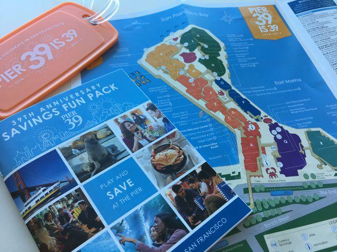まずウェルカム・センターへ直行!Pier39のクーポン&サンフランシスコ観光情報をゲット
