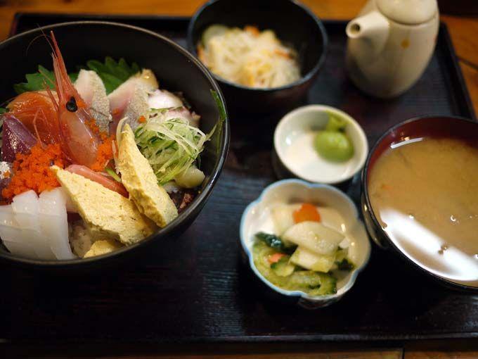 なんと660円!鳥取最安値(?)の海鮮丼!