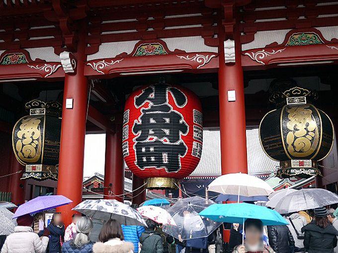 「浅草寺」は少し遅い時間がオススメ
