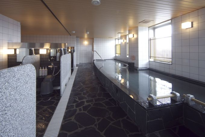 疲れも吹き飛ぶ名古屋の街を一望できる露天風呂