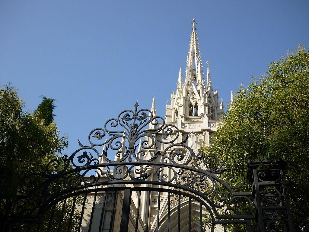 絵本から飛び出してきたようなセントグレース大聖堂