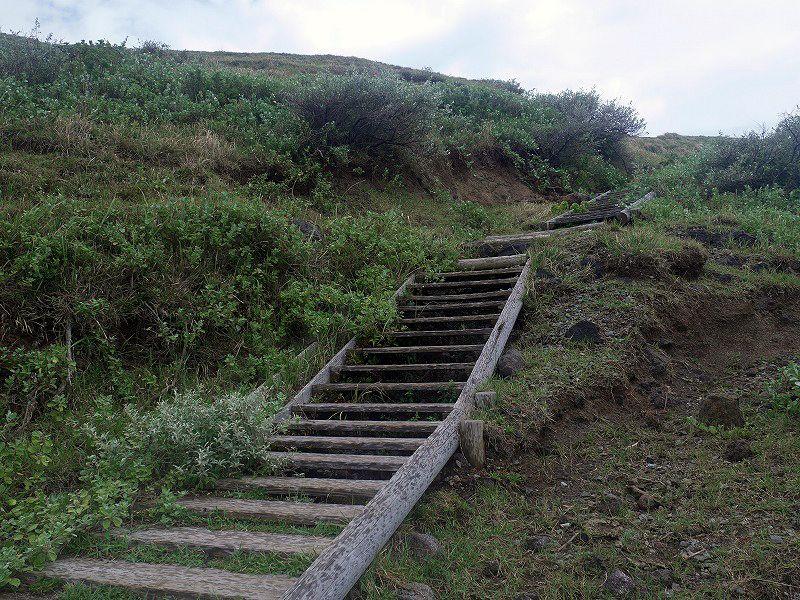 奇石が連なる国賀海岸