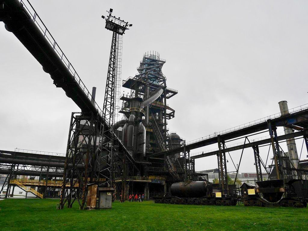 鉱山の街オストラヴァならではのドルニ・ビトコビツェ