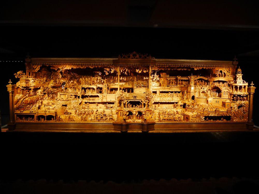 キリスト生誕のジオラマが展示されているベツレヘム博物館