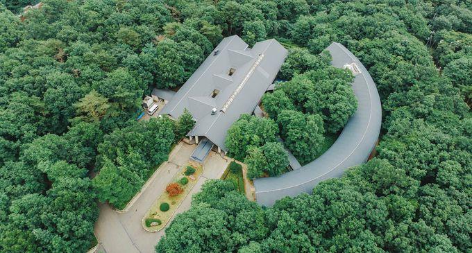 那須高原の別荘地にある静かな隠れ家ホテル
