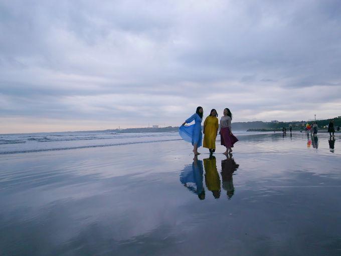幻想的な1枚を!大洗リフレクションビーチ
