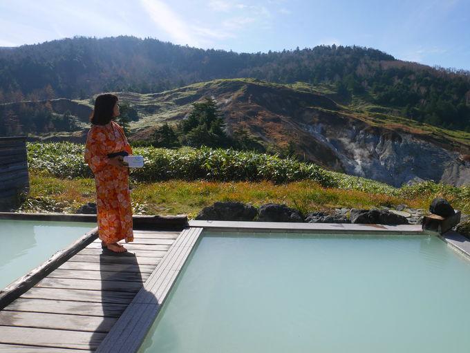 「万座ホテル聚楽」は源泉100%のかけ流し温泉