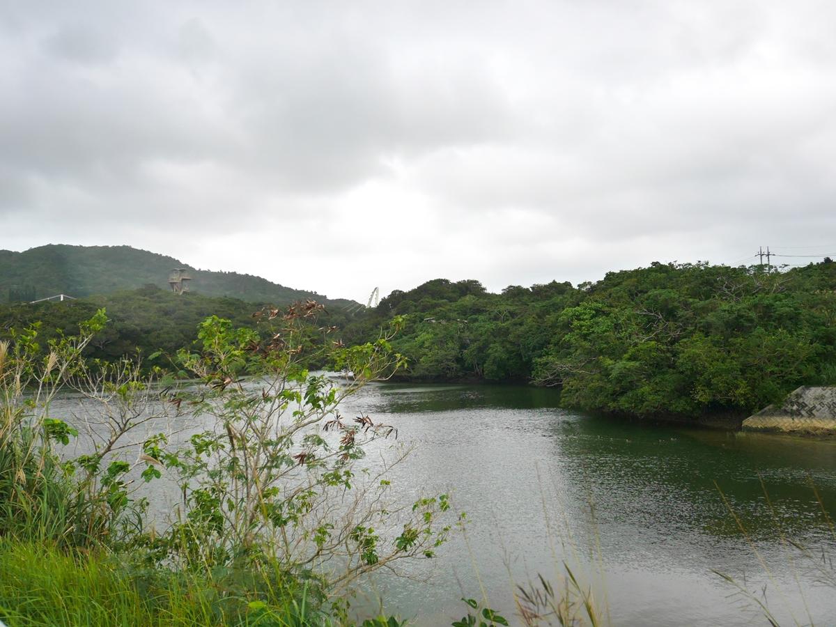 石垣島最北端の大浦ダムから最南端の石垣ダムへ