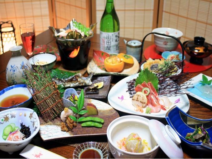 茨城ガストロノミーが味わえる山田屋旅館