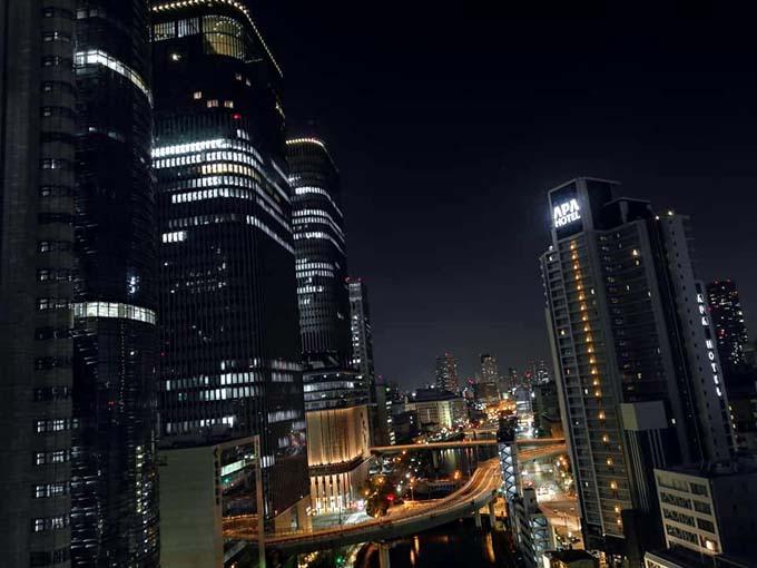中之島の夜景がラグジュアリー感をアップ