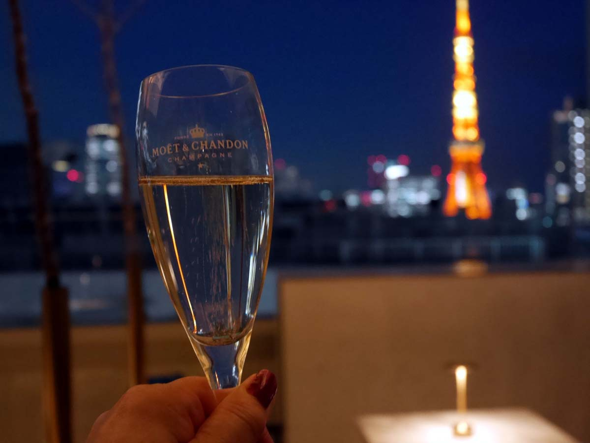 東京のパノラマ夜景を一望