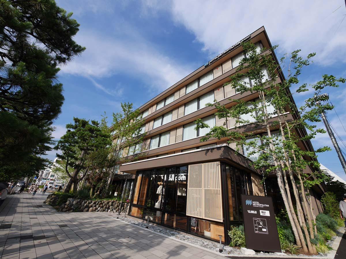 鎌倉駅東口から徒歩2分の「ホテルメトロポリタン鎌倉」