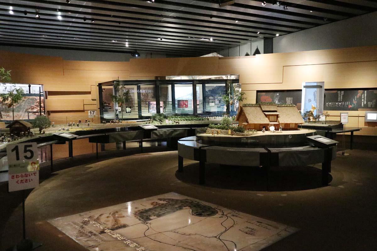 山梨県立博物館の見どころ