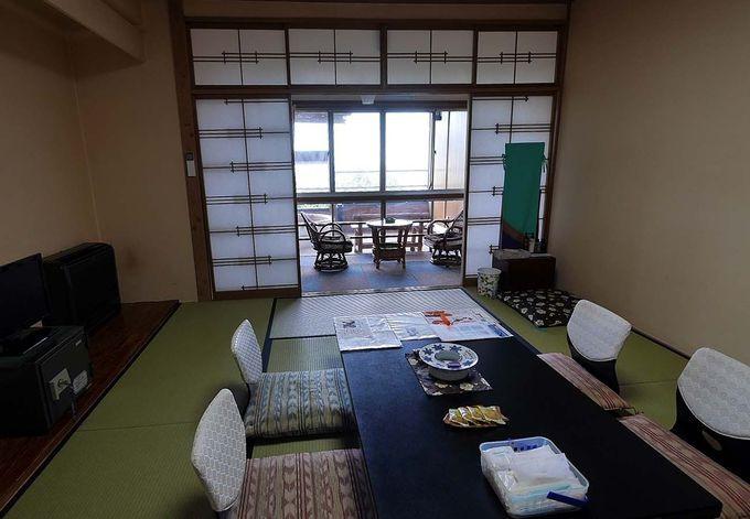 熱川の町と相模湾を一望できる「たかみホテル」