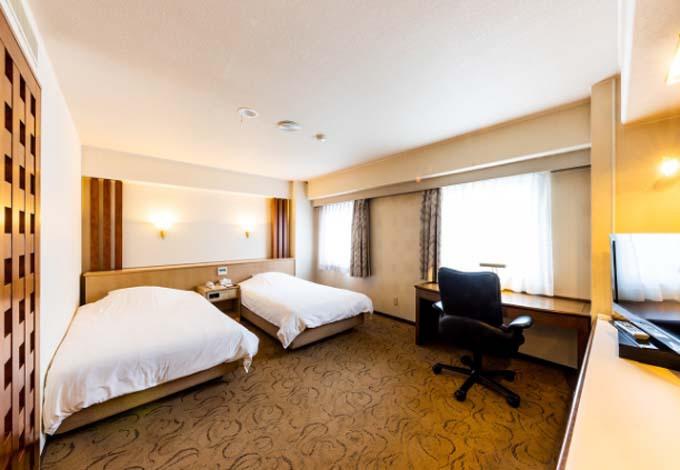 オリエントホテル高知は高知城ビューの客室も!