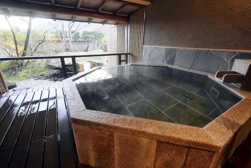 「湯めぐりの宿 修善寺温泉 桂川」には7つの貸切風呂が!