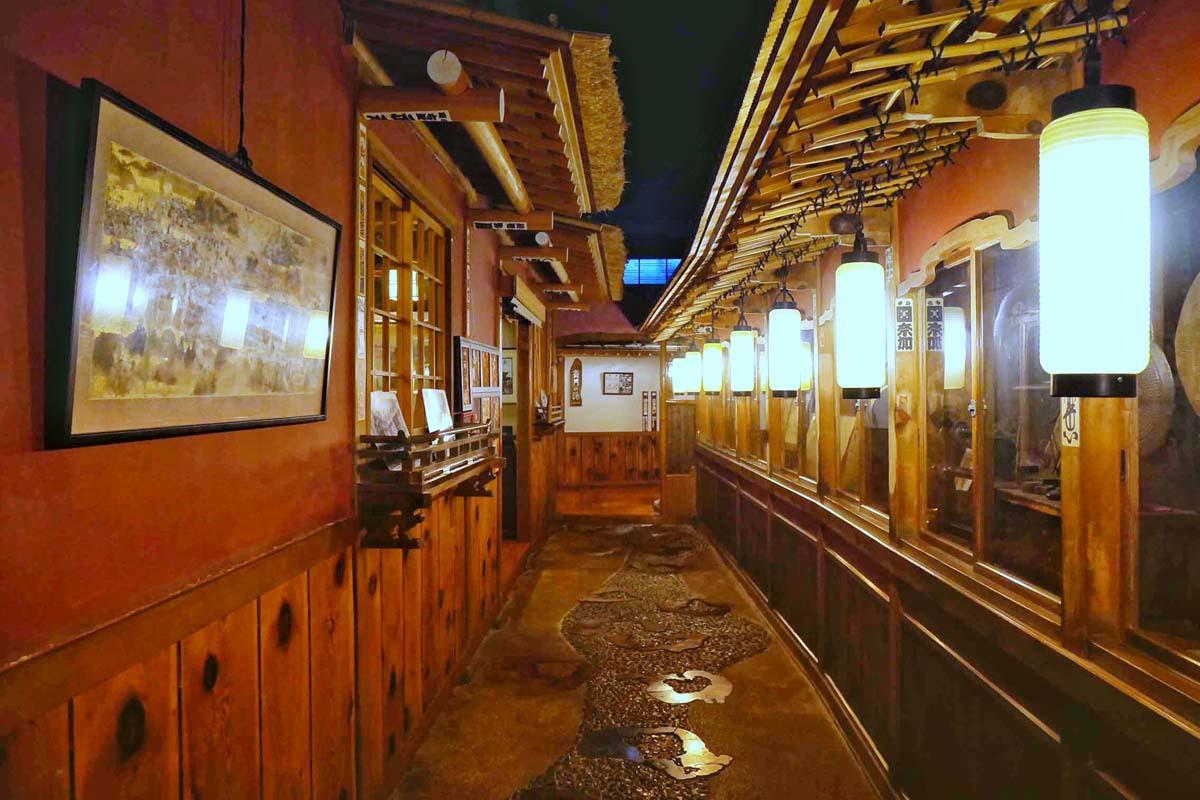 「歴史の宿 金具屋」は登録有形文化財の宿