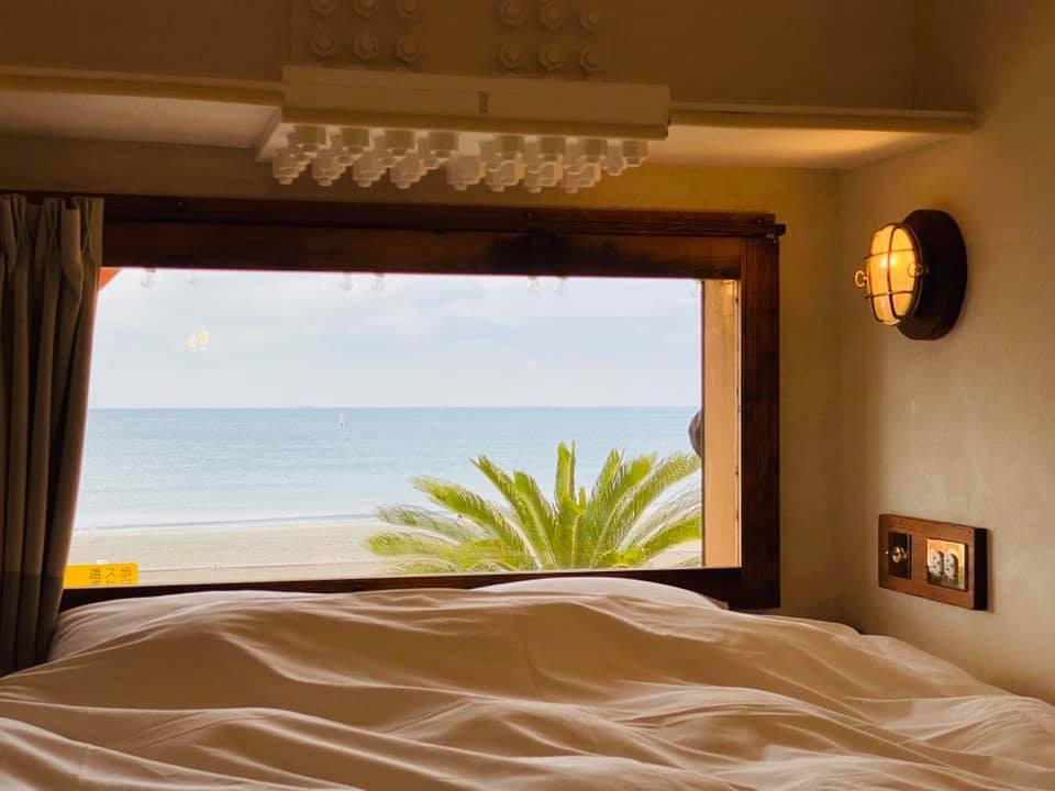 「Bed&Breakfast GOOD MORNING ZAIMOKUZA」1日中鎌倉の海を楽しもう