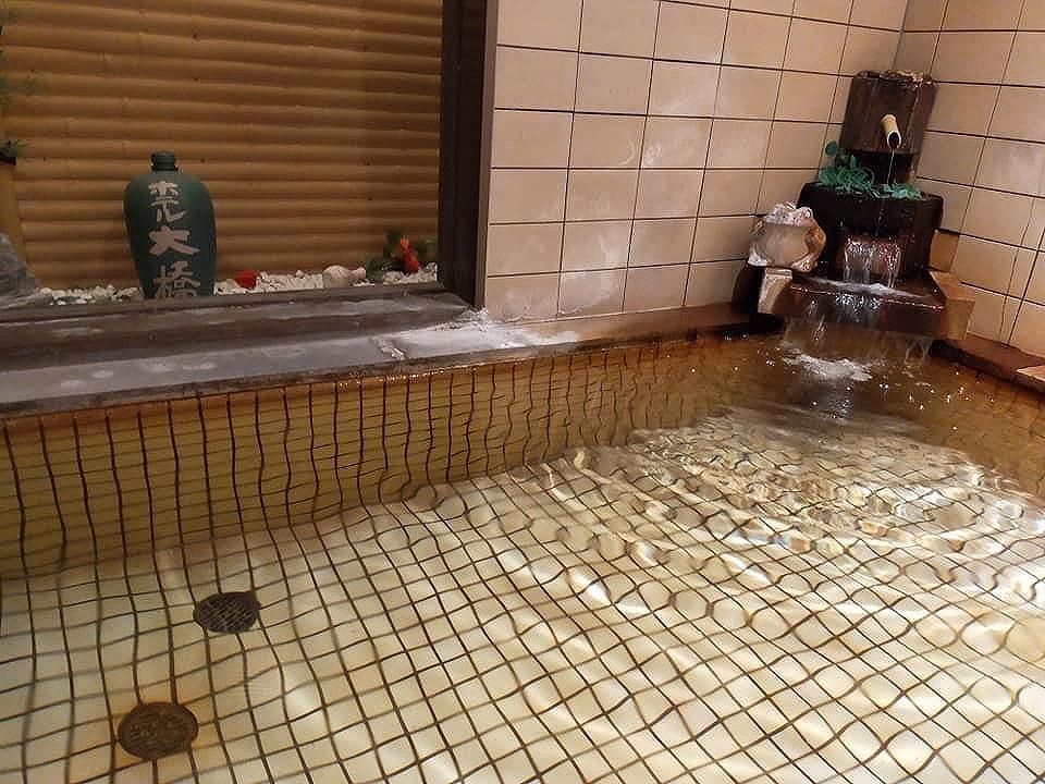 大浴場は24時間入浴可能な富士の霊泉