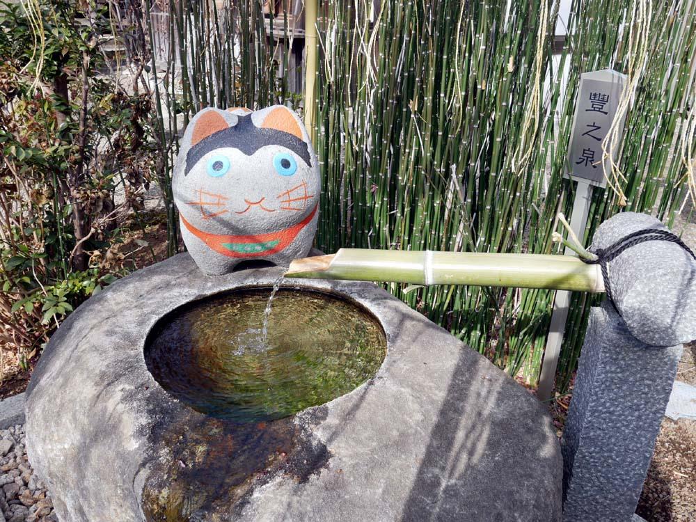 正式名称は阿豆佐味天神社・立川水天宮