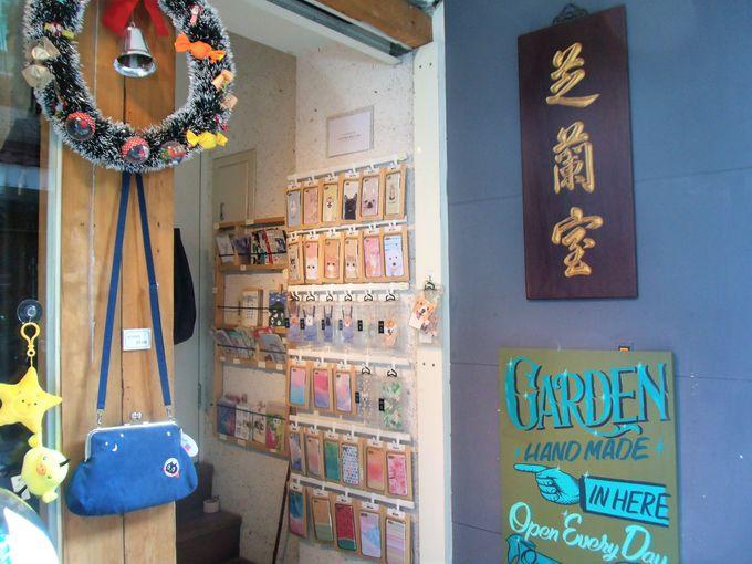 台北・永康街のハンドメイド雑貨店「Garden 文創選物店」