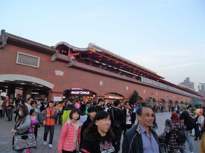 台北MRTで楽々アクセス!人気観光地「淡水」