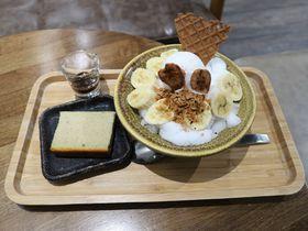 旗山バナナ尽くしの限定カキ氷!台北・迪化街「枝仔冰城」