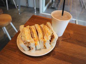 おしゃれ朝食ブランチ店で台湾トーストサンド!台北「真芳」