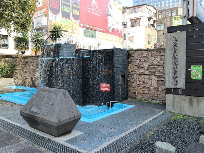 台北駅Y区地下街からすぐ「後火車站商圈」