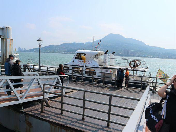 午後:クルーズ船で淡水漁人碼頭へ