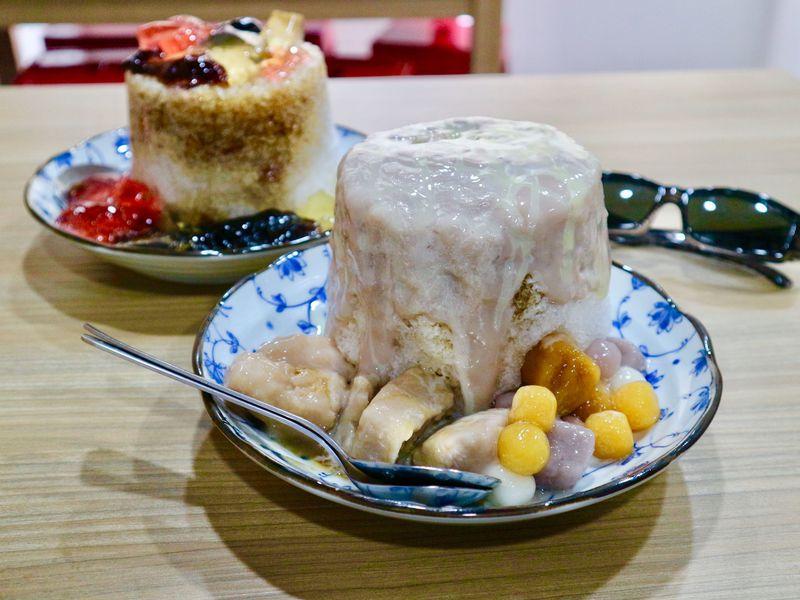 濃厚タロイモがとろ〜り台湾カキ氷!台北「冰雪糖冰舖」