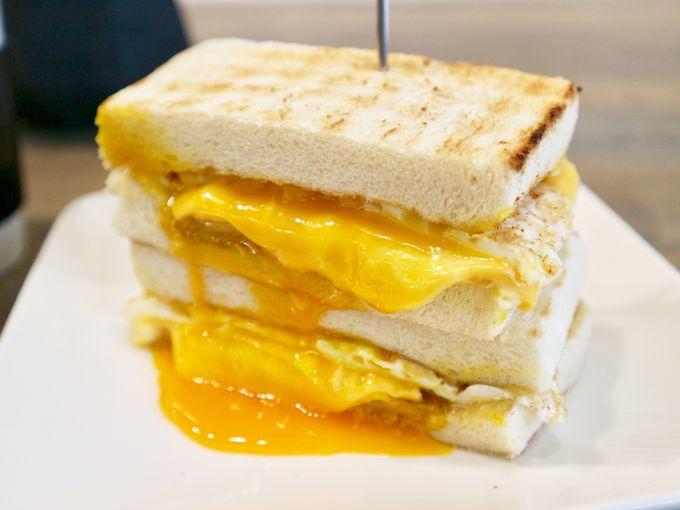 チーズとろ〜りトーストサンドのお味は?