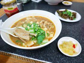 台湾・宜蘭観光のランチに!骨付き羊肉麺が人気「大成羊排麺」