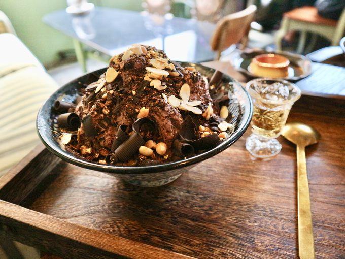 大人系ウイスキーチョコレート雪花冰のお味は?