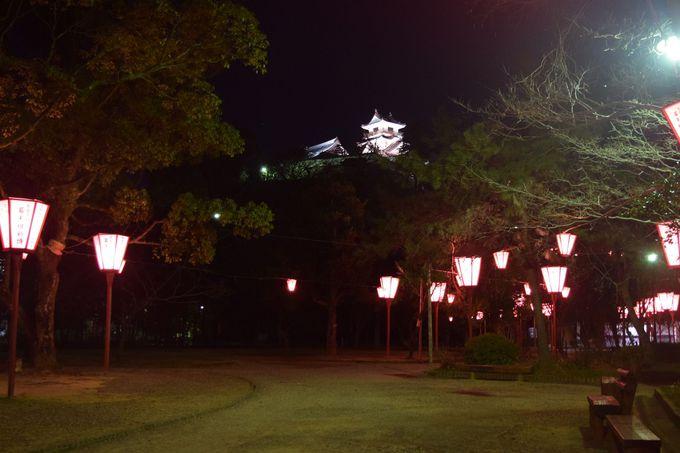 【撮影おすすめスポット�B】高知城公園内
