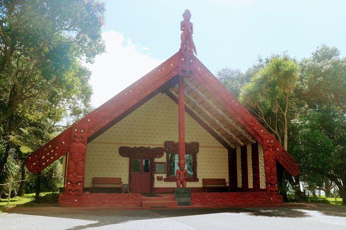 グラウンド内にあるニュージーランド歴史的な魅力