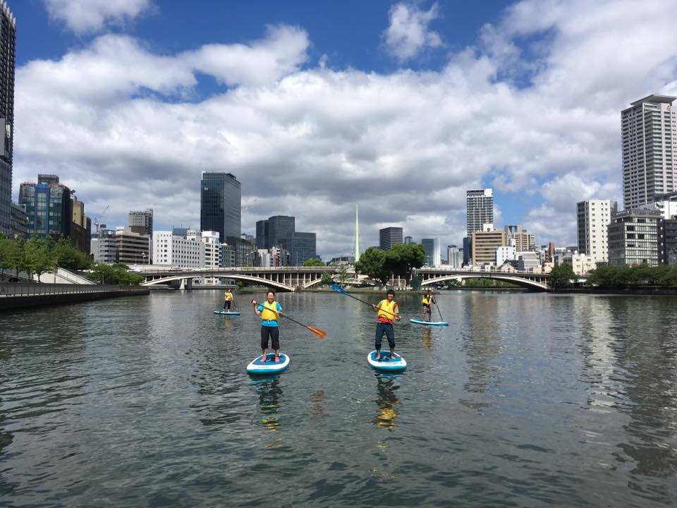 SUPで水辺の魅力を再発見!