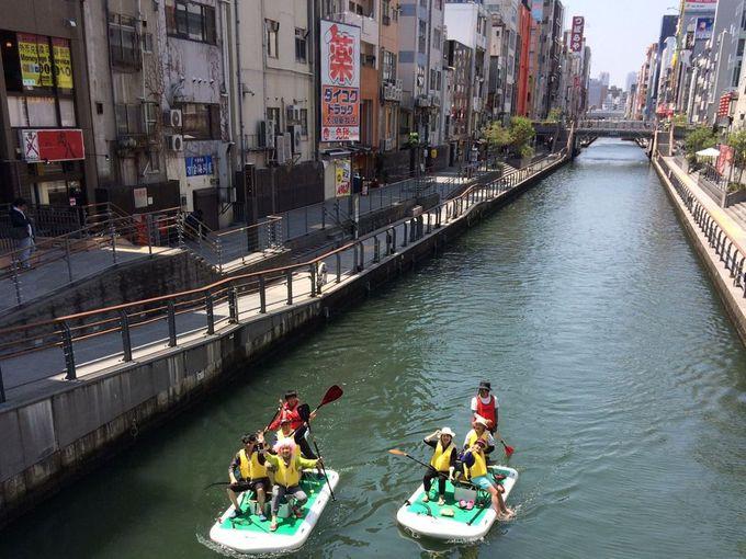 グリコ看板も満喫できる大人気の「水の都 回廊ツアー」