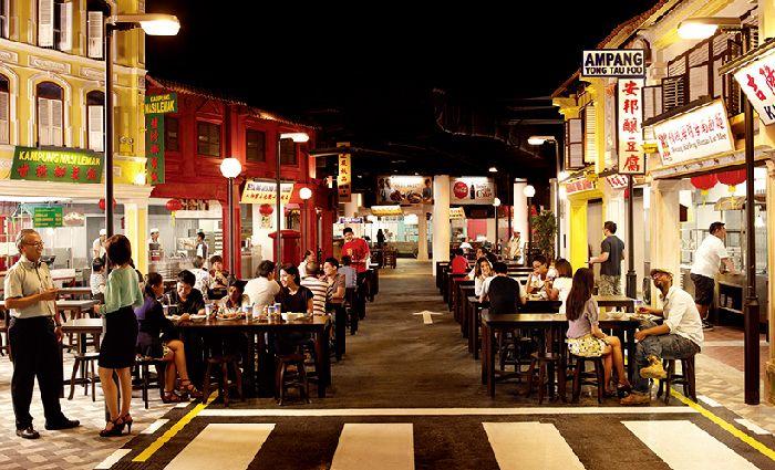 9.マレーシアン・フード・ストリート
