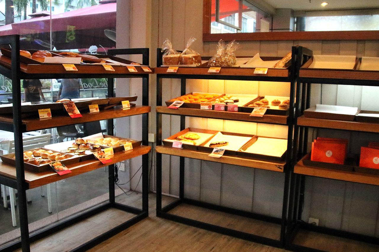 ザ・ローフは日本のパン屋さんのような雰囲気