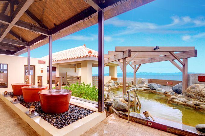 2日目午後:那覇空港まで車で15分の「瀬長島」で絶景温泉を楽しむ