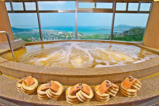 太古の化石海水が含まれる天然温泉「猿人の湯」